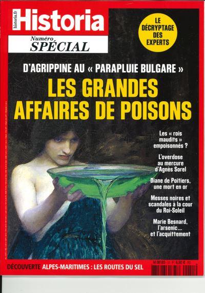 Les grandes affaires de poisons