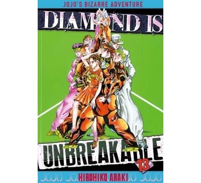 Jojo's bizarre adventure - Tome 13 : Jojo's - Diamond is unbreakable