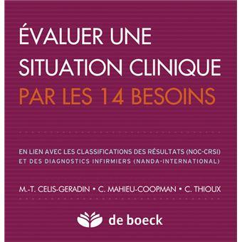 Evaluer Une Situation Clinique Par Les 14 Besoins