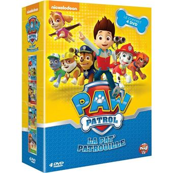 coffret paw patrol la pat 39 patrouille dvd dvd zone 2 achat prix fnac. Black Bedroom Furniture Sets. Home Design Ideas