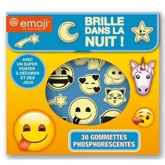 Emoji Gommettes Phosphorescentes