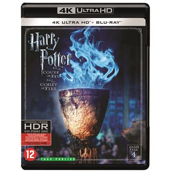 Harry PotterHARRY POTTER 4:AND THE GOBLET OF FIRE-BIL-BLURAY 4K