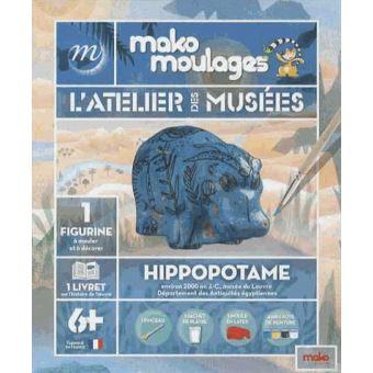 Mako moulages hippopotame