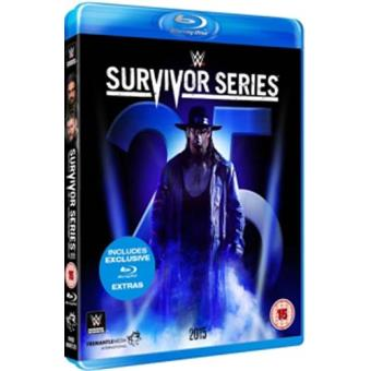WWE Survivor Series 2015 Blu-ray