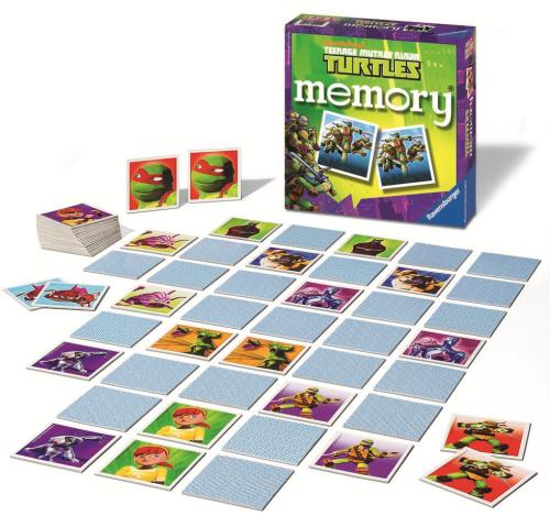 GD Memory Ninja Turtles Ravensburger