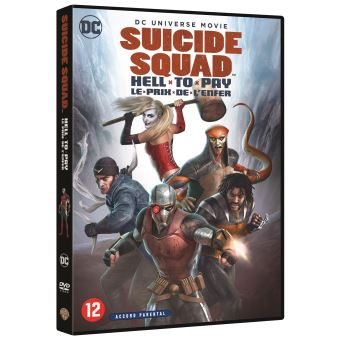 Suicide SquadSuicide Squad Hell to Pay DVD