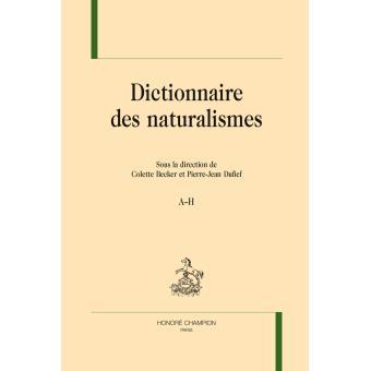 Dictionnaire des naturalismes
