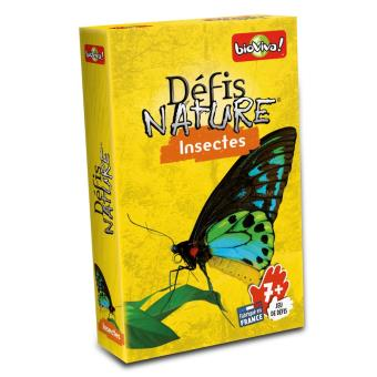 DEFIS NATURE - INSECTES