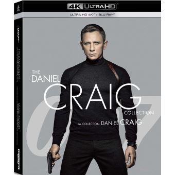 James BondCoffret James Bond 007 : Daniel Craig 4 Films Blu-ray 4K Ultra HD