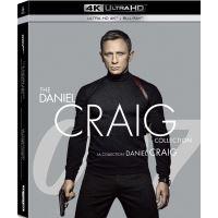 Coffret James Bond 007 : Daniel Craig 4 Films Blu-ray 4K Ultra HD