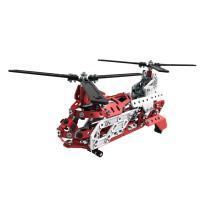 Hélicoptère Secours aérien Meccano 406 pièces 20 modèles