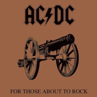 AC/DC for those about to rock-canvas
