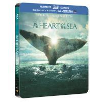 Au cœur de l'océan Edition ultime Steelbook Blu-ray 3D + 2D + DVD
