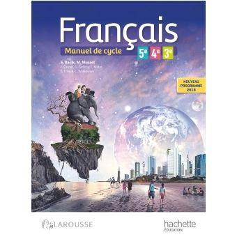 Francais 5e 4e 3e Cycle 4