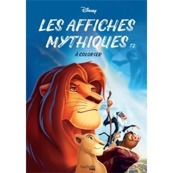 Les affiches mythiques Disney