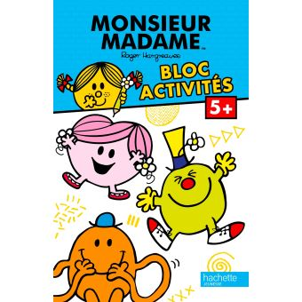 Monsieur MadameMonsieur Madame Bloc Activités