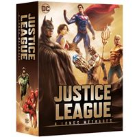 Coffret Justice League 4 films DVD
