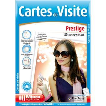 Micro Application 5249 Cartes De Visite Prestige