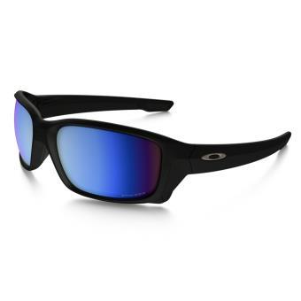 Lunettes de soleil Oakley Straightlink PRIZM Deep Water Polarized Noire et  bleue 6e071fa7d9da