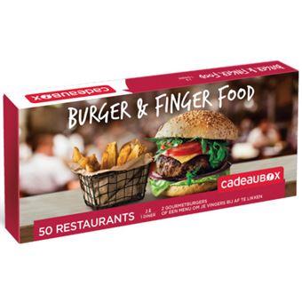 Cadeaubox Burger & Finger Food NL
