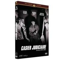 Casier judiciaire DVD