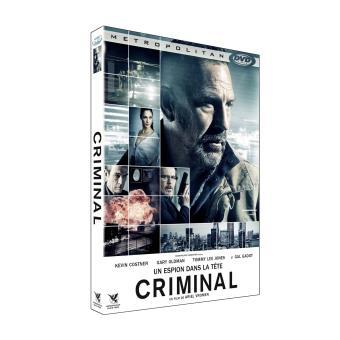 Criminal - Un espion dans la tête DVD