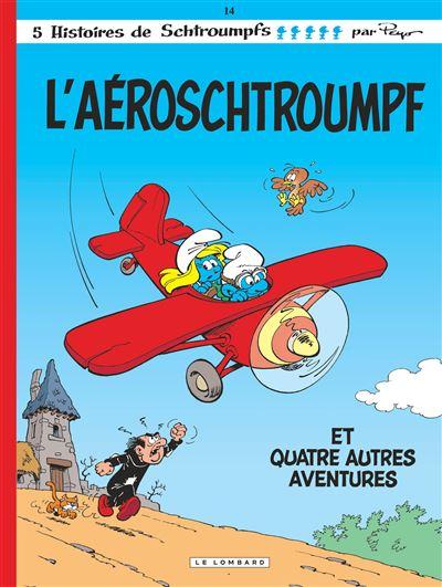 Les Schtroumpfs Lombard - Aéroschtroumpf (L')
