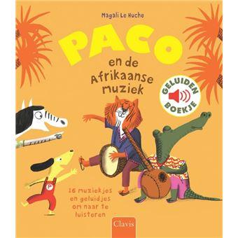 GeluidenboekjesPaco en de Afrikaanse muziek