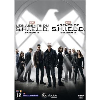 Les agents du SHIELDMarvel : Les agents du S.H.I.E.L.D. Saison 3 DVD