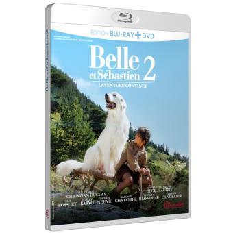 Belle et SébastienBelle et Sébastien 2 L'aventure continue Combo Blu-ray + DVD