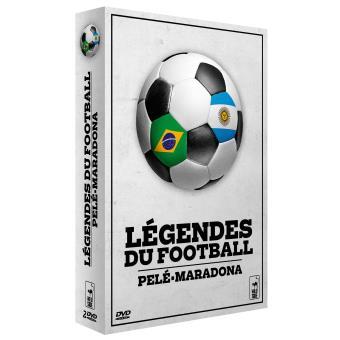Coffret Légendes du foot 2 films DVD