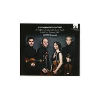 Quatuors dédiés à Haydn k 387, 428 & 465