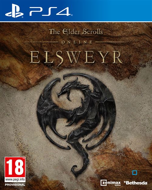 The Elder Scrolls Online Elsweyr PS4