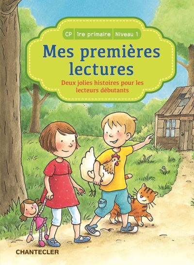 Deux jolies histoires pour les lecteurs débutants, CP 1ère Primaire Niveau 1