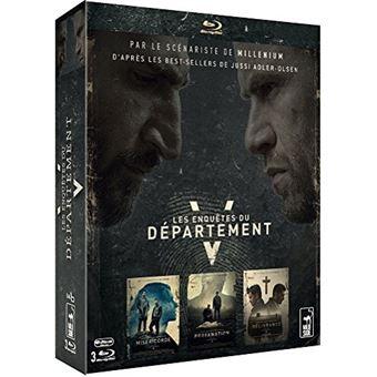 Les enquêtes du département VLes enquêtes du Département V Coffret  Blu-ray