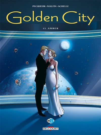 Golden City T13. Amber