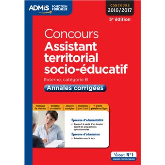 Concours Assistant territorial socio-éducatif - Catégorie B