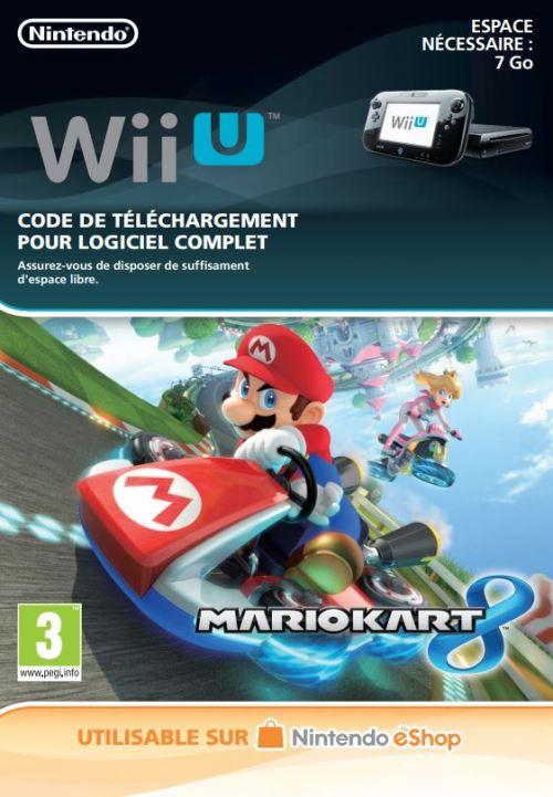 Code de téléchargement Mario Kart 8 Nintendo Wii  U