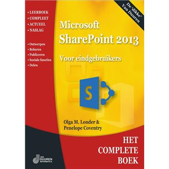 COMPLETE BOEK SHAREPOINT 2013 STEP BY STEP
