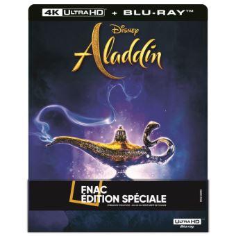 AladdinAladdin Steelbook Edition Spéciale Fnac Blu-ray 4K Ultra HD