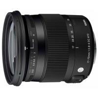Objectif reflex Sigma DC C 17 – 70 mm f/2.8 – 4.0 OS HSM Macro Line Contemporary; Monture Canon