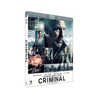 Criminal - Un espion dans la tête Blu-ray