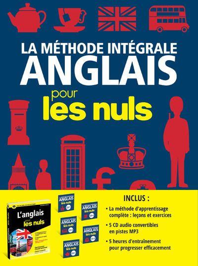 Pour les Nuls - Livre avec 5 CD audio : Coffret La Méthode intégrale Anglais pour les Nuls