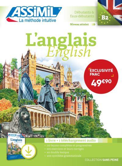 L'Anglais, English Niveau B2 Exclusivité Fnac, prix de lancement jusqu'au 30/09/2019