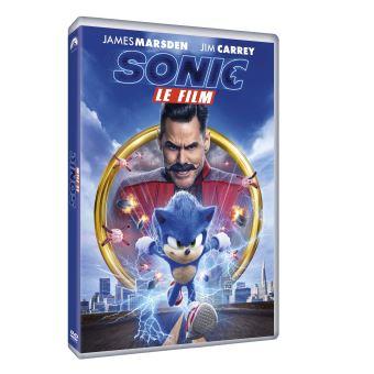 Les Aventures de SonicSonic le film DVD
