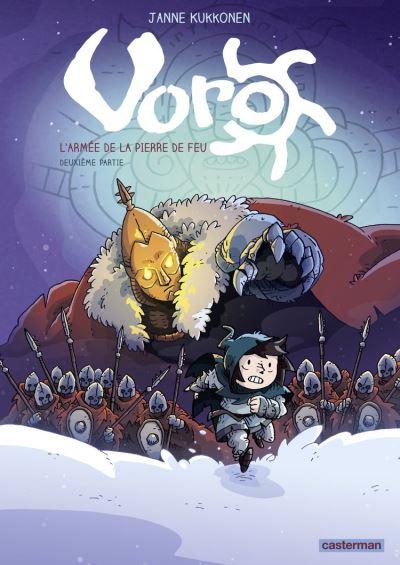 Voro (Tome 5) - L'armée de la pierre de feu