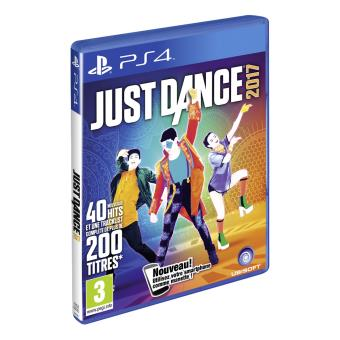 just dance 2017 ps4 jeux vid o achat prix fnac. Black Bedroom Furniture Sets. Home Design Ideas