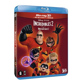 Les IndestructiblesLes Indestructibles 2 Blu-ray 3D