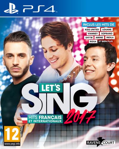 Let's Sing 2017 Hits Français et Internationaux PS4