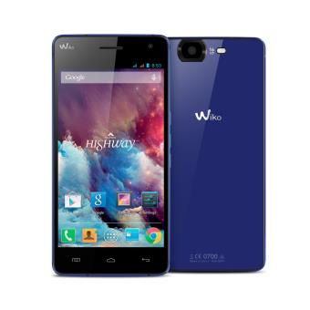 WIKO FND HIGHWAY BLUE ELECTRIC 16GO